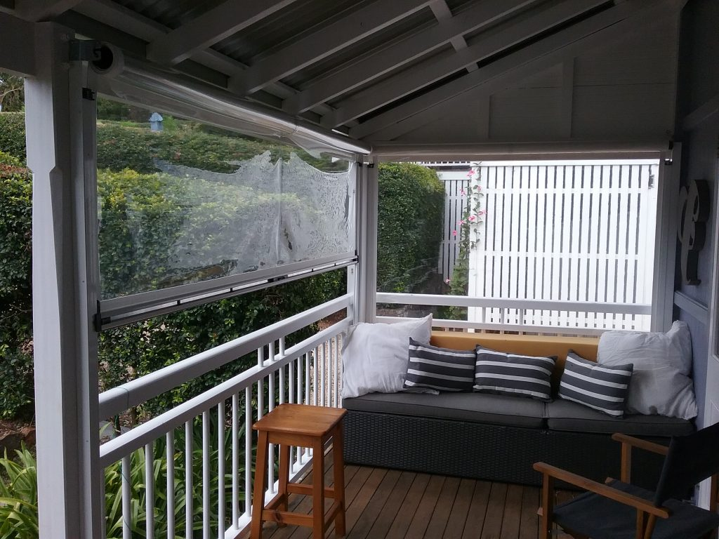 Ziptrak Awnings Bangalow