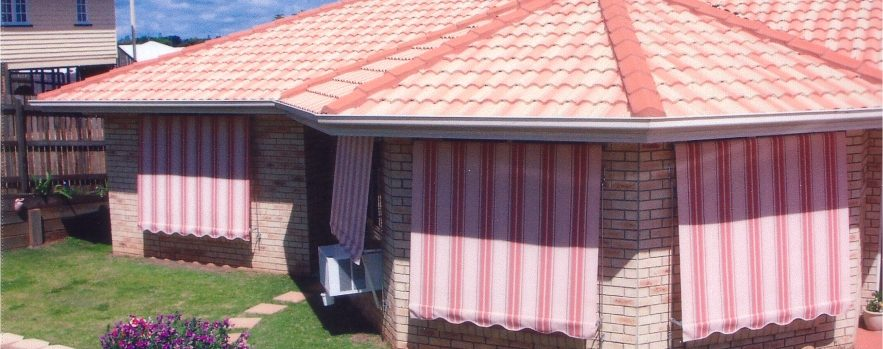 Auto Guide Arm Fabric Awning, Automatic Awning