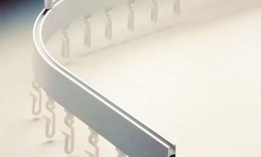 Silent Gliss Curtain Track