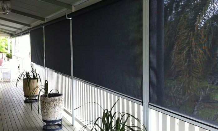 Zipscreen Fabric Awning
