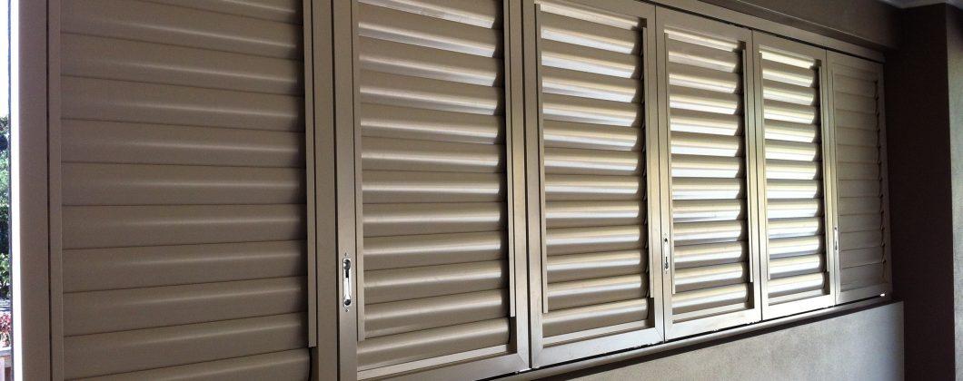 Aluminium Shutters Window