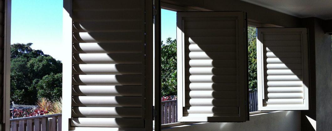 Aluminium Shutters Window insulation