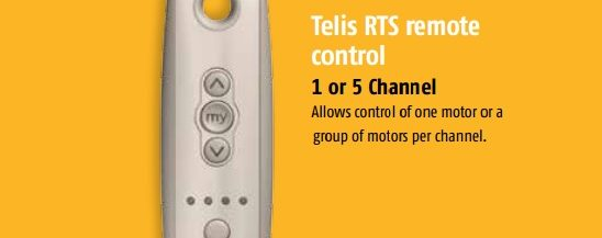 Somfy Telis RTS Remote Control