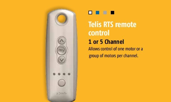 louvolite remote control instructions