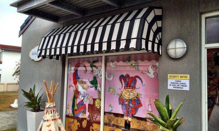 Fixed Frame Awnings Fabric